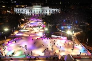 ice skating Vienna
