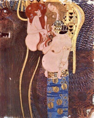 Beethoven Frieze, Klimt, Secession