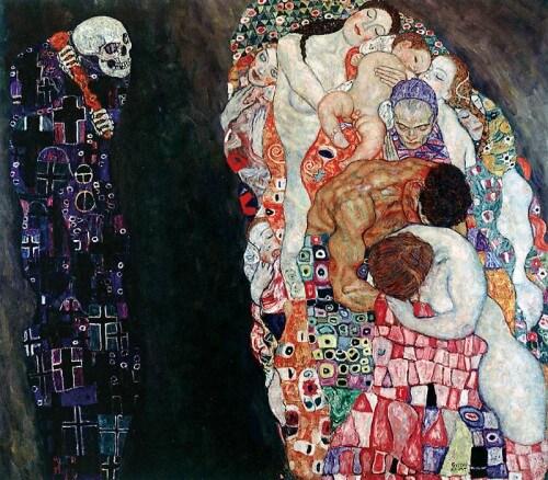 Tod und Lleben, Gustav Klimt