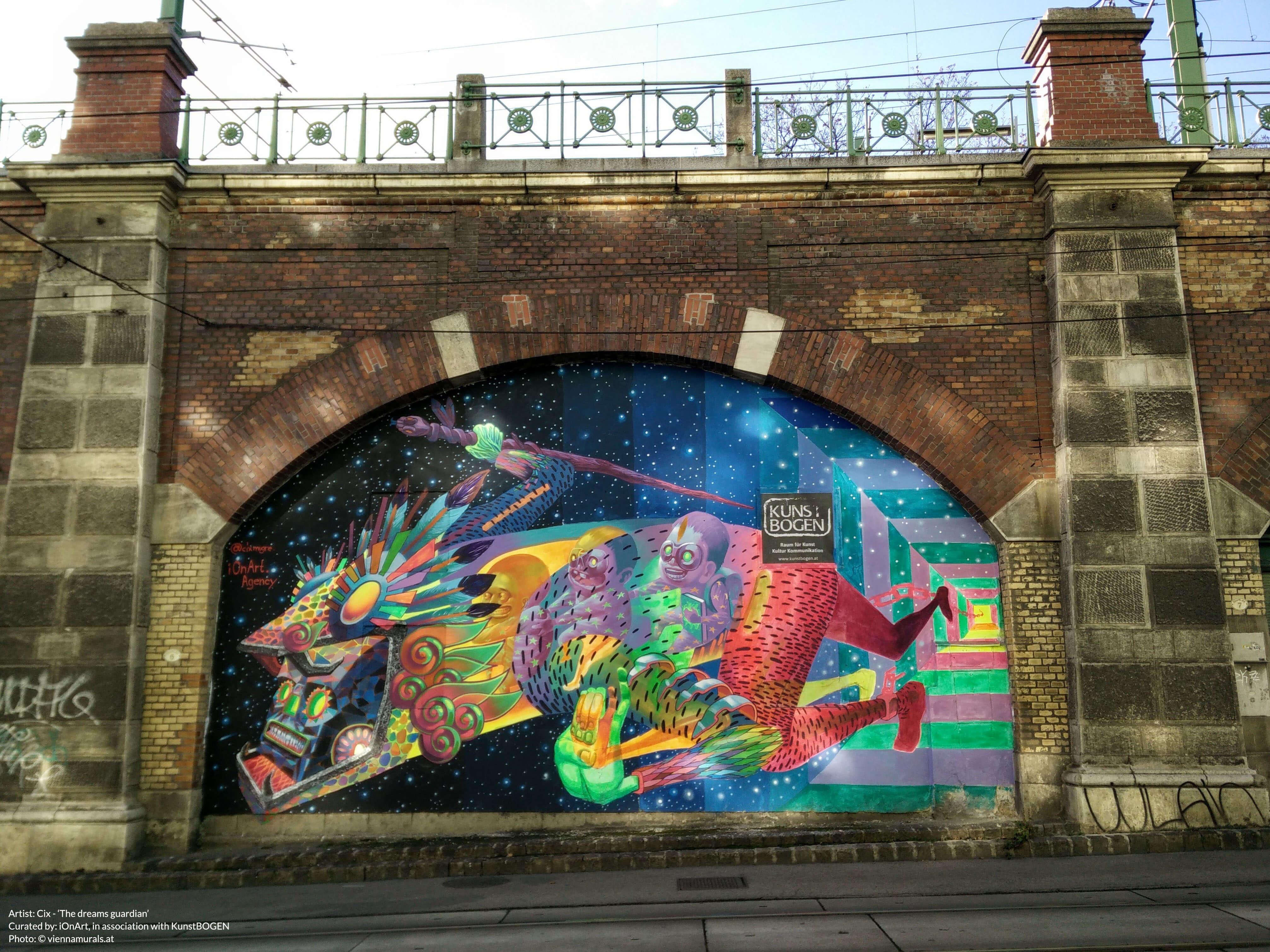 Street Art and Murals in Vienna