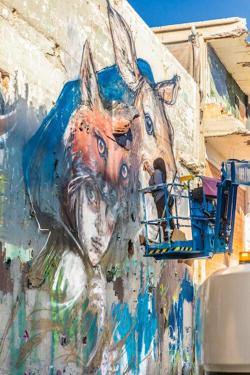 werksviertel hands off female graffiti festival